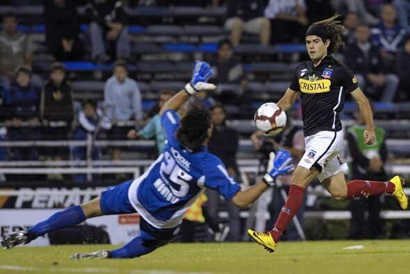 """El """"Cacique"""" chileno arrancó ganando con gol de Ezequie..."""