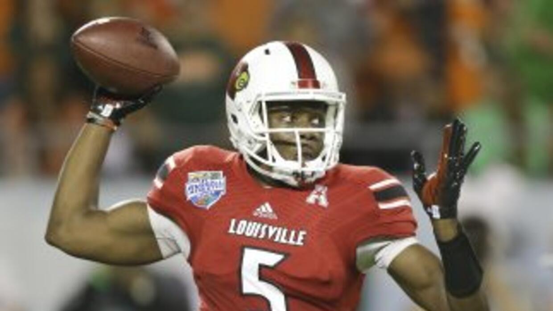 Teddy Bridgewater es uno de los principales prospectos del Draft (AP-NFL).