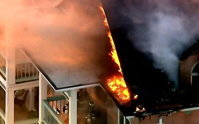 'Nueva York en un Minuto': incendio en Nueva Jersey presentado en la mad...