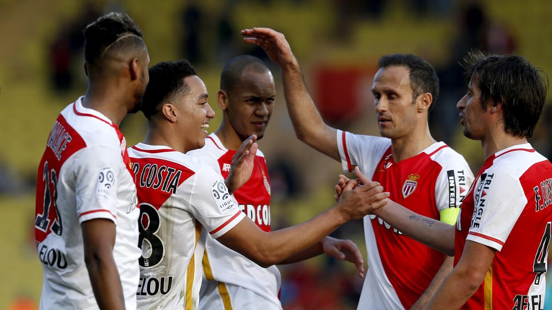 Mónaco derrotó al Toulouse y sigue en segundo lugar