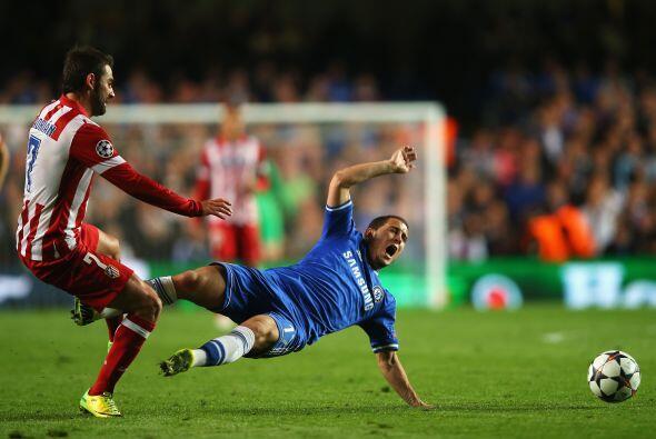 Hazard (6): Fue el más peligroso del Chelsea mientras le duraron...