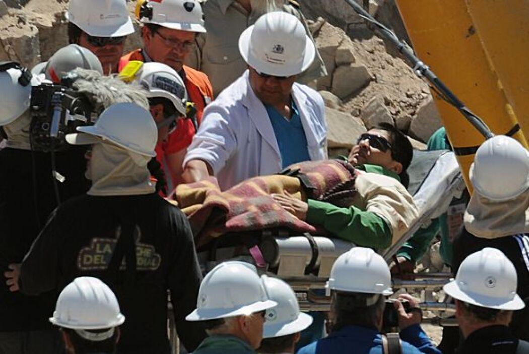 El minero número 18 en ser rescatado fue Esteban Rojas. Un hombre de fe,...