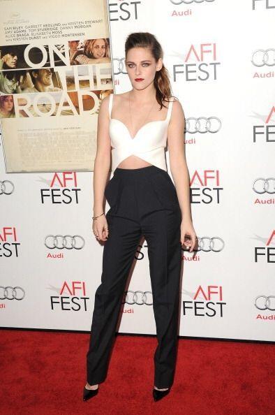 Si buscas un 'look' formal más arriesgado, el estilo de Kristen Stewart...