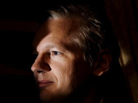 Julian Assange, cuyo arresto por sospechas de violación este mart...