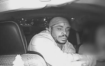 En video quedó registrado el asalto a un taxista sin medallón en El Bronx