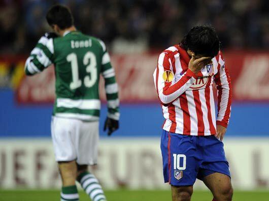 Al final del juego, el marcador reflejó un empate 0-0 y el Atlético irá...