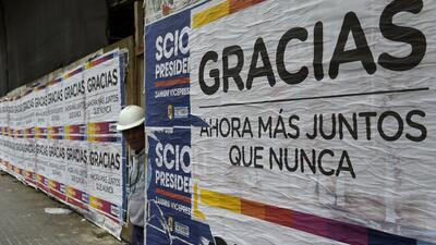 Los candidatos argentinos inician la campaña para el balotaje