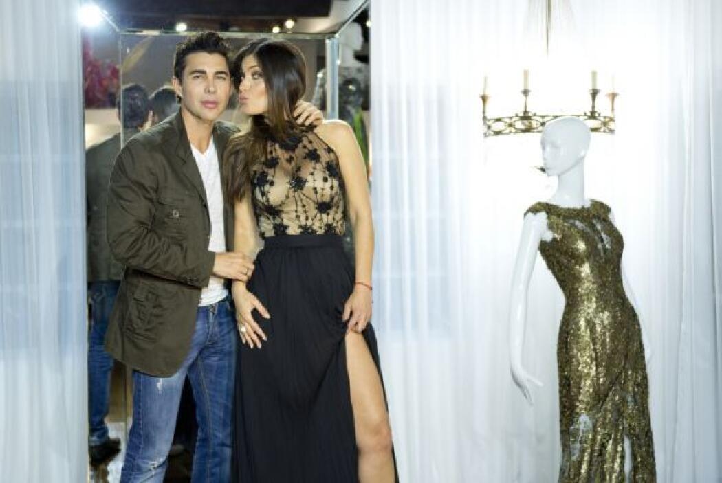 Chiqui y Nicolás son la pareja perfecta de la moda. Además son grandes a...