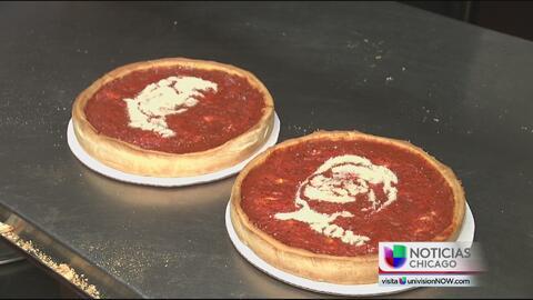 Famosa pizzería de Chicago lanza las pizzas presidenciales
