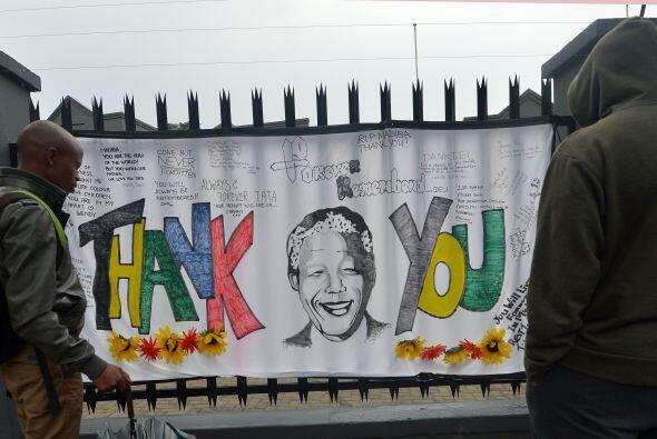 """""""El mundo necesita otro Madiba. Él no puede ser el último"""", pidió Rossou..."""