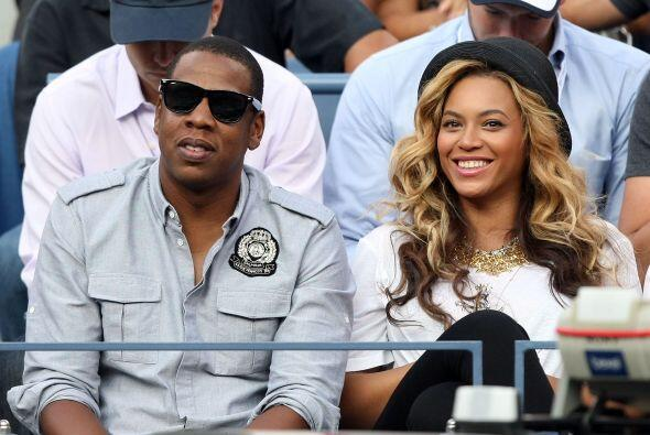 El rapero neoyorquino Jay Z, no podía faltar en el evento, acompa...
