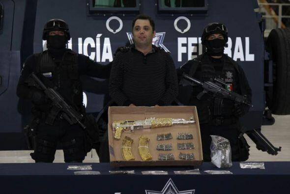 12 de septiembre. Autoridades mexicanas presentaron a Ramiro Pozos Gonzá...