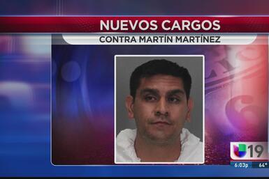Nuevos cargos contra Martín Martínez