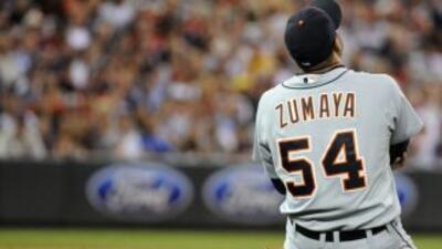 En junio del 2012 con los Detroit Tigers Joel Zumaya se fracturó el codo...