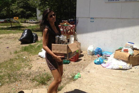 A Fabiana le preocupa limpiar el planeta.