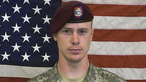 Foto del sargento del ejército de Estados Unidos Bowe Bergdahl, quien se...