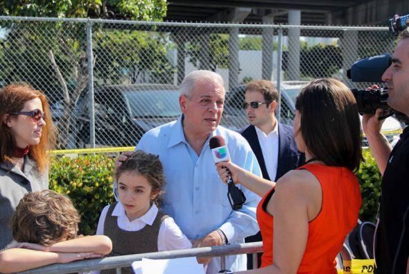 El alcalde de Miami, Tomás Regalado es entrevistado por nuestra amiga Ar...