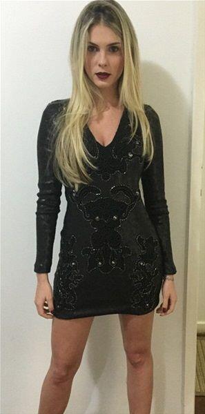 Bárbara Evans es una modelo que hace poco tiempo era pareja del jugador...