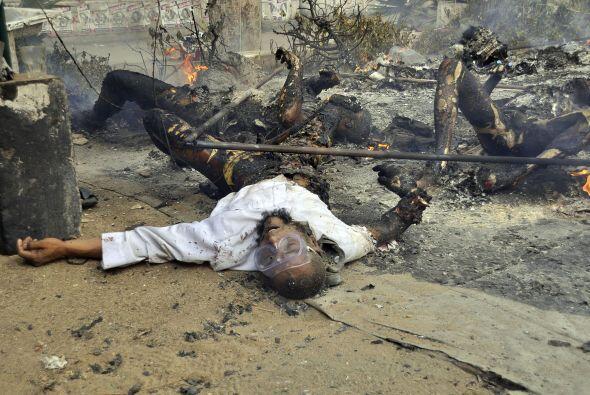 El mayor número de víctimas se ha registrado en la provinc...