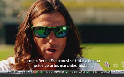 """Frankie Hedjuk: """"Jugar contra México era como una pelea de artes marciales"""""""