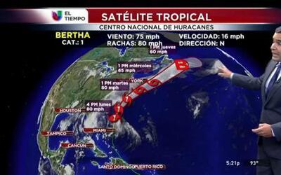 Huracán Bertha