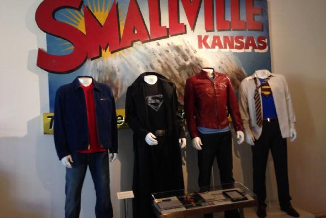 También tenemos el vestuario que se utilizó en 'Smallville'.