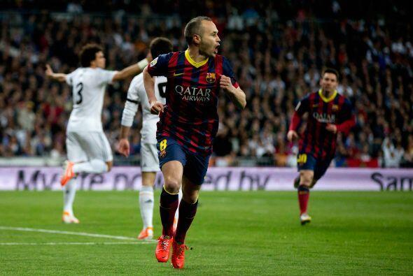 Pero el primer golpe lo dio el Barcelona, por conducto de Andrés...