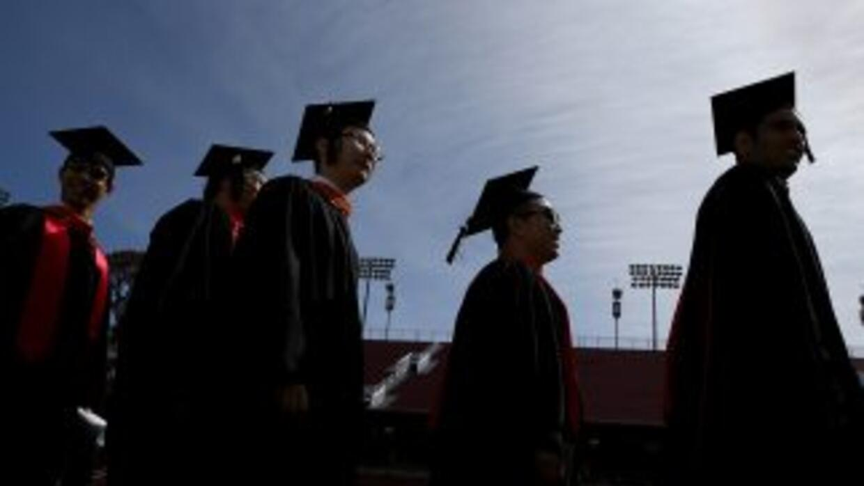 Ceremonia de graduación en Stanford