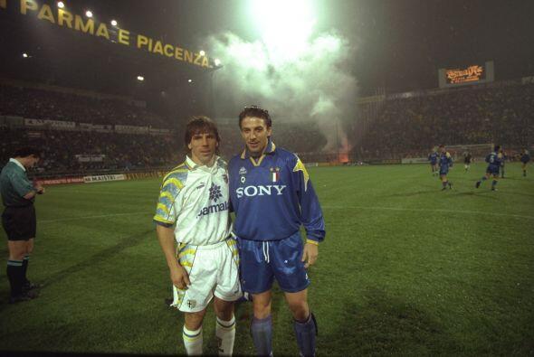 Del Piero ha compartido equipo y enfrentado a diversos cracks del orbe m...