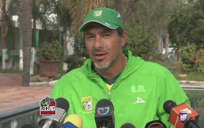 Gustavo Matosas: 'La prioridad es que venga el quinto extranjero en luga...