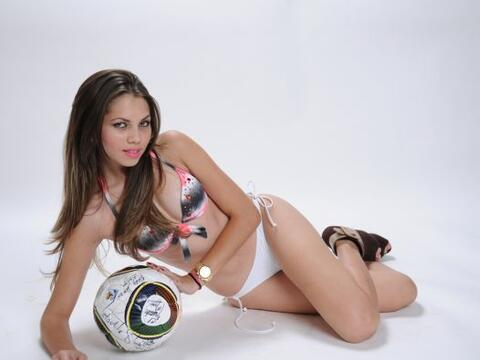 Con ustedes la candidata a La Chica de Oro Beatriz Marín, una ama...