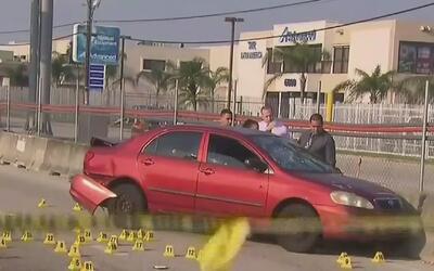 Un hombre genera pánico al disparar indiscriminadamente en una autopista...