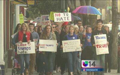 Cientos marchan en San José para mandar un mensaje de apoyo a las minorías
