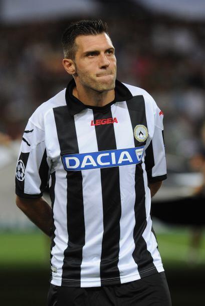 El defensor del cuadro de Udine se unió a la remontada de su equipo, que...