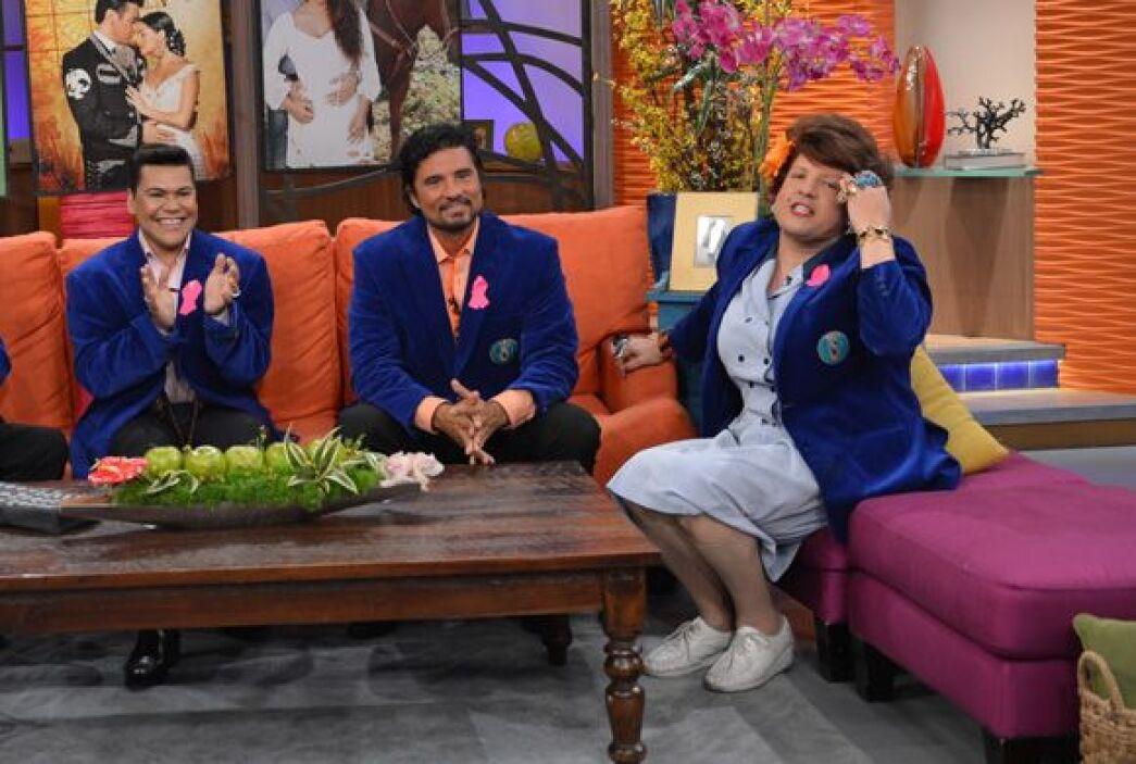 David Zepeda, Diego Olivera y Mayrín Villanueva llegaron a nuestra casa...