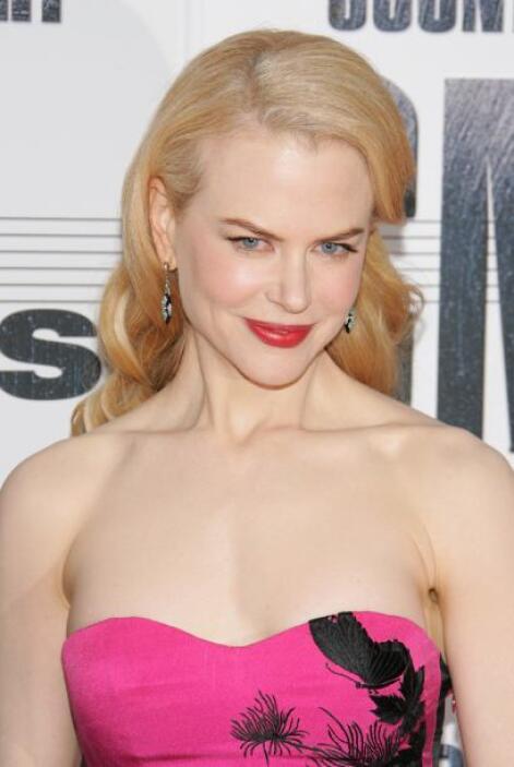 Nicole Kidman es alérgica a las abejas.