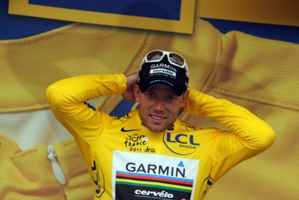 Thor Hushvod retuvo el maillot amarillo al seguir dominando la clasifica...