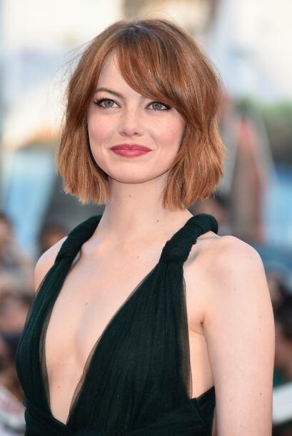 La guapa Emma Stone seguró le dará batalla en votaciones.