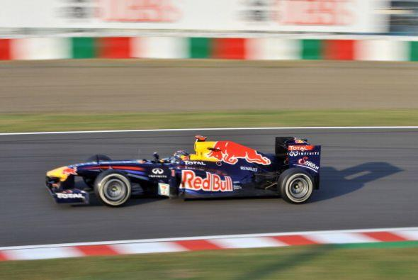 El piloto alemán Sebastian Vettel se convirtió en bicampeón de la Fórmul...