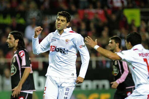Sevilla se adelantó con gol del argentino Fazio.