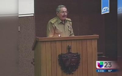 Raúl Castro habla de la normalización en la Asamblea Nacional