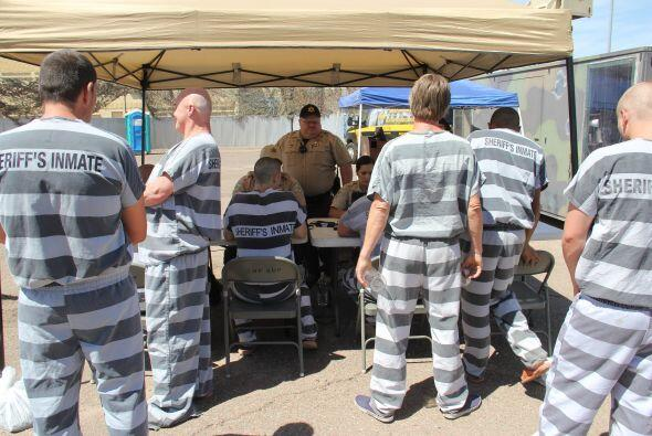 Muchos de los inmigrantes que sirven sus sentencias aquí han vivido en l...