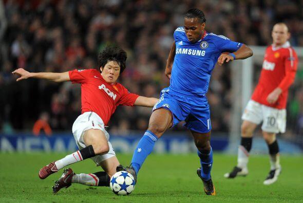 Desde el inicio del encuentro, al menos el parado del Chelsea fue netame...