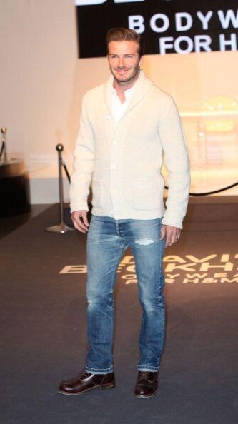 Formal o informal, con mucha o poca ropa, David Beckham es y seguirá sie...