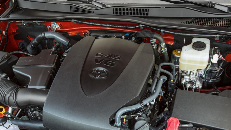 La Toyota Tacoma 2016 cuenta con un nuevpo V6 de 3.5 litros con 278 caba...