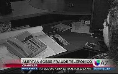 Alerta por fraude telefónico