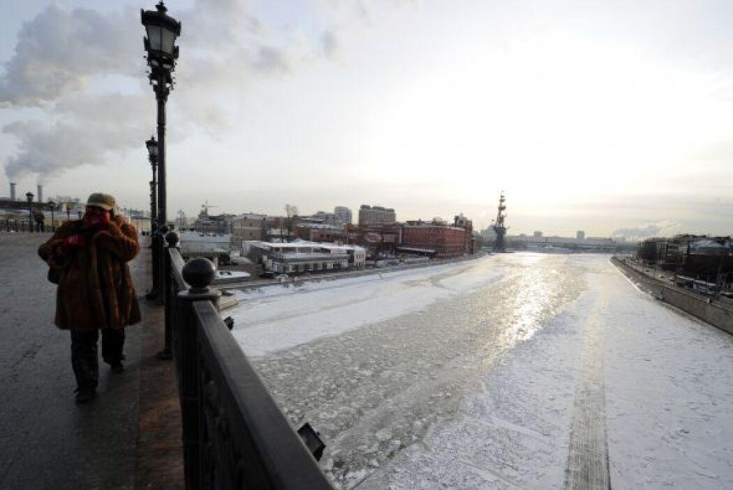 Las temperaturas más bajas, inferiores a los 50 grados bajo cero, se reg...