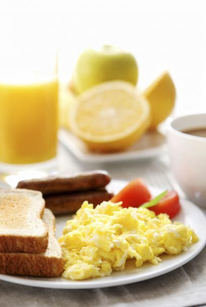 """Los beneficios. """"Las investigaciones muestran que tomar un buen desayuno..."""