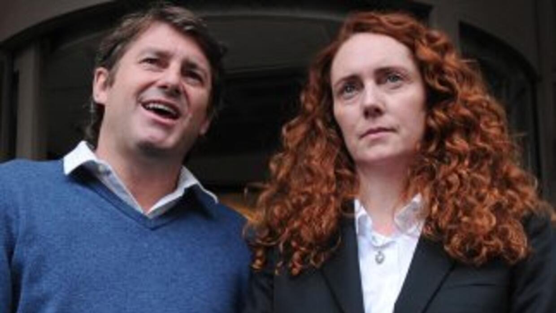 Rebekahy CharlieBrooks, amigo del primer ministro David Cameron, fuero...