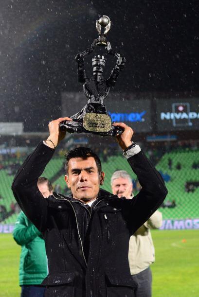 Previo al duelo entre Santos y Veracruz, Oswaldo Sánchez fue home...